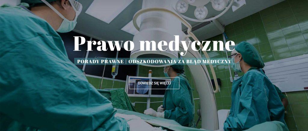 Porady prawne, odszkodowane zabłąd metyczny - prawo medyczne Łódź - Kancelaria WWP